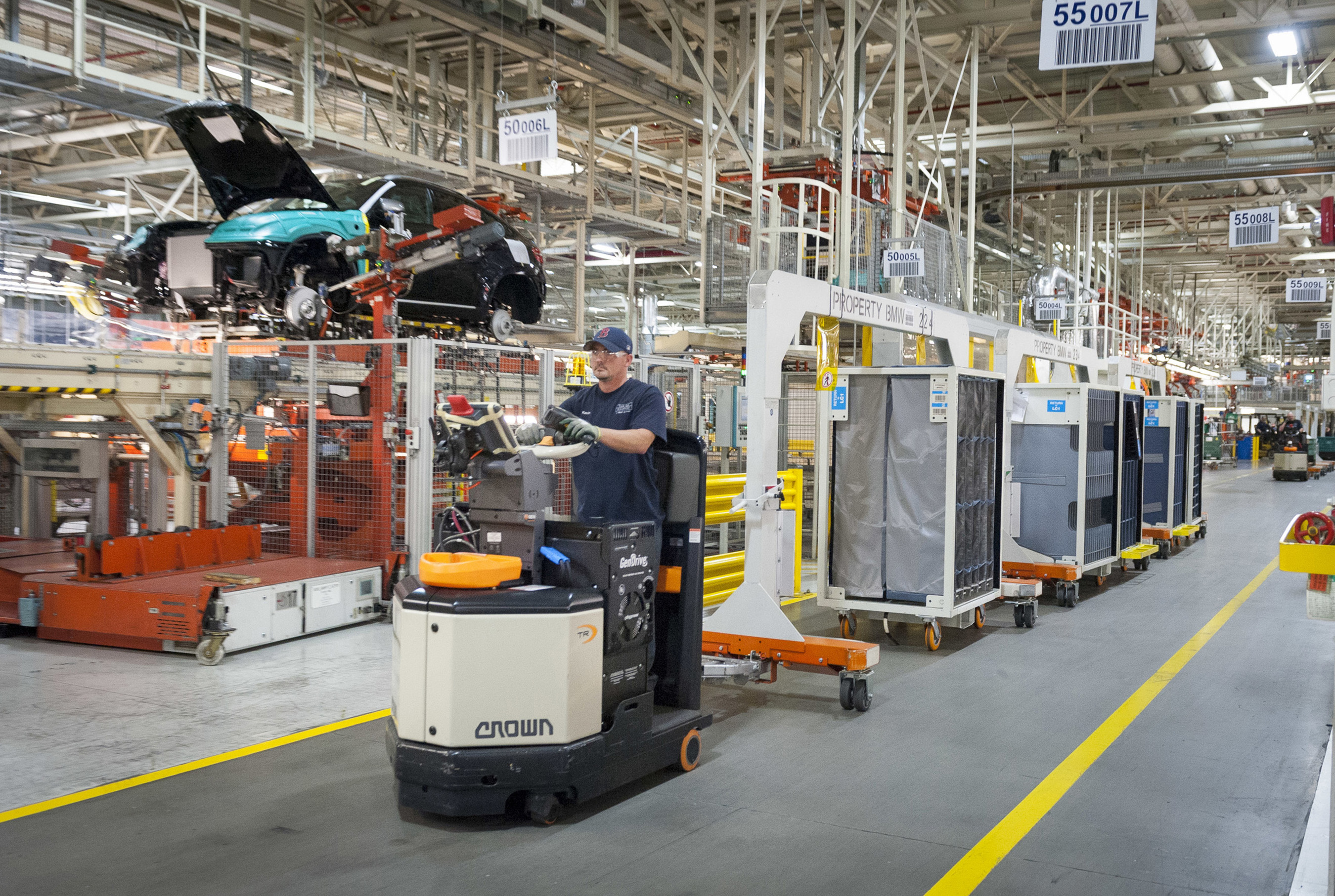 Bmw Manufacturing Expands Use Of Hydrogen Fuel Cells